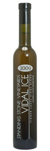<b>Standing Stone Vineyards</b><br/> Vidal Ice 2009 375ml