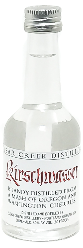 <b>Clear Creek Distillery</b><br/> Kirschwasser 50ml