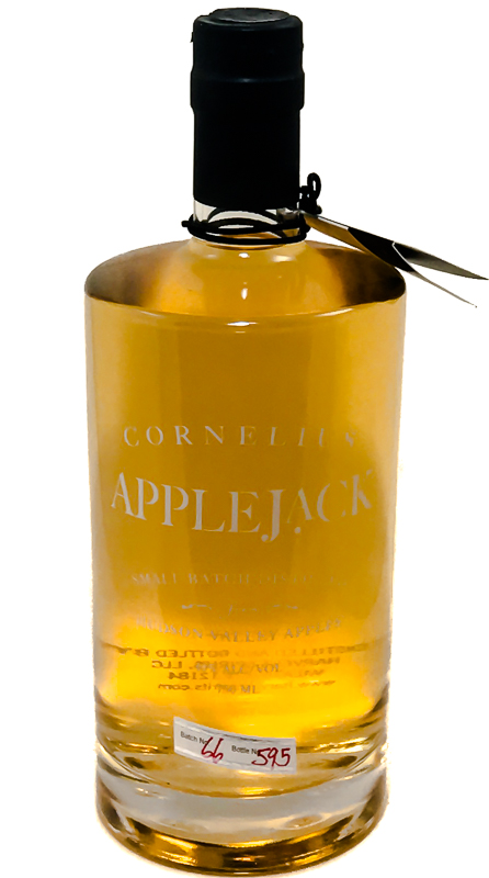 <b>Harvest Spirits</b><br/> Cornelius Applejack 750ml
