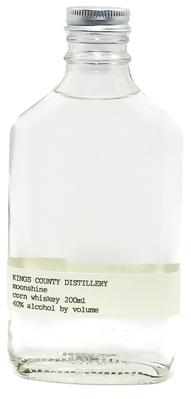 <b>Kings County Distillery</b><br/> Moonshine Corn Whiskey 200ml