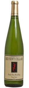 <b>Red Newt Cellars</b><br/> Semi-Dry Riesling 2010