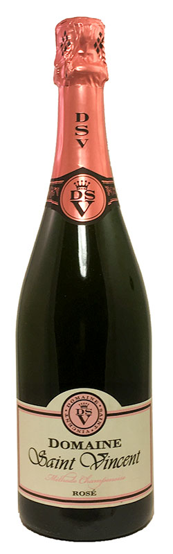 <b>Domaine Saint Vincent</b><br/> Methode Champenois Rose NV
