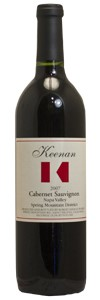 <b>Keenan Winery</b><br/> Napa Valley Spring Mountain District Cabernet Sauvignon 2010